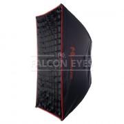 Софтбокс Falcon Eyes SBQ-80100 BW для галог.осв. с сотами