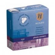 Henzo 18311 уголки прозрачные 250 шт