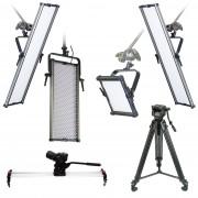 PhotoProCenter Studio Kits Комплект на базе светодиодных осветителей, видео студия №206