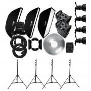 Комплект Profoto Pro-8A Professional Kit на два генератора и четыре головы 966891