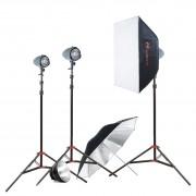 Комплект с тремя моноблоками Falcon Eyes SL-150 Advance Kit