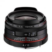 Объектив Pentax HD DA 15mm f/4 AL Limited Black