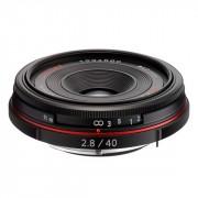 Объектив Pentax HD DA 40мм f/2.8 Limited Black