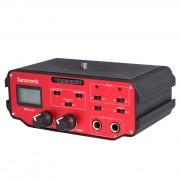 Микшер Saramonic BMCC-A01 для камер Blackmagic (2 моно-входа XLR, 2 моно-выхода TRS)