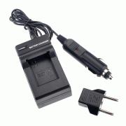 Fujimi GP AHDBT-201/301 Зарядное устройство с автомобильным кабелем (GoPro3, 3+)