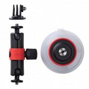 Joby Держатель на присоске Suction Cup & Locking Arm (черный/красный)