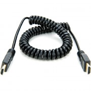 Аксессуар Atomos Coiled Full HDMI to Full HDMI Cable (30cm)