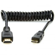 Аксессуар Atomos FULL TO MINI HDMI COILED CABLE 50 CM