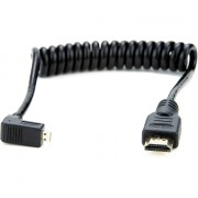 Аксессуар Atomos Right-Angle Micro to Full HDMI Coiled Cable 30 cm