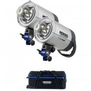 Комплект с двумя моноблоками Hensel Integra 500 Plus Freemask Kit (2шт. + сумка) 8815FMP4201