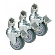 Колеса для стойки Kupo Caster w/round adapter KC080R
