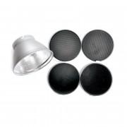 Комплект насадок Elinchrom Рефлектор + сотовые насадки 21см. 26051