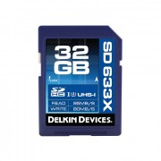 Delkin Devices Best SDHC 32GB Elite 633X UHS-I Class 3 [DDSDELITE633-32GB]