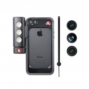 Manfrotto MKLOKLYP5S Бампер для iPhone 5/5S/SE, объективы fisheye, portait 1,5х, wideangle, LED свет