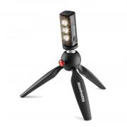 Manfrotto LIGHT-KIT-PIXI Комплект: штатив Pixi+LED свет