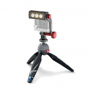 Manfrotto LIGHT-KIT-PIXIXTREME Комплект:штатив Pixi Xtreme+крепление для GoPro+LED свет