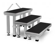 Лестница Guil ECT20-60 Модульная 3-ступенчатая лестница с ножками 20-25 см, 40-60 см, 50-80 см