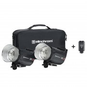 Комплект с двумя моноблоками Elinchrom ELC Pro HD 500/500