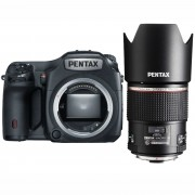 Среднеформатная камера Pentax 645Z body + D FA 645 90mm f/2.8 ED AW SR