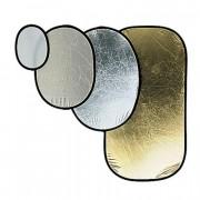 Отражатель на пружине Avenger I6241 GOLD/WHITE 120X185 O. REF