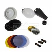 Falcon Eyes Комплект насадок FGA-K8 для накамерных вспышек
