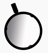 Dedolight DGRADF06 Дихроичный нейтрально-серый градуированный фильтр ( ND09)