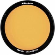 Profoto Clic Gel Quarter CTO для A1, A1x, C1 Plus