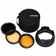 Profoto Комплект OCF II Grid & Gel Kit цветных фильтров с сотами