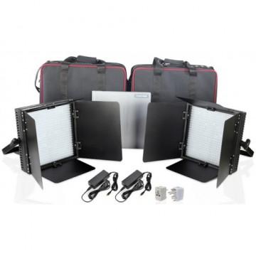 Комплект видеосвета LED Proaim 2x600 Agile Production Flood