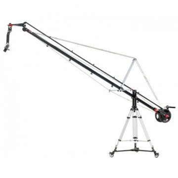 Комплект крана Proaim 12ft Wave Plus Jib Crane, 100mm Tripod Stand, Sr. Pan Tilt Head, D-77 Dolly