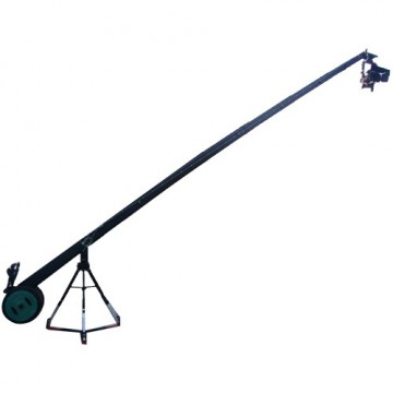 Комплект крана Proaim 22ft Octagonal Crane, 150mm Tripod Stand, Gold Pan Tilt Head, D-33 Dolly (Wonder Package)