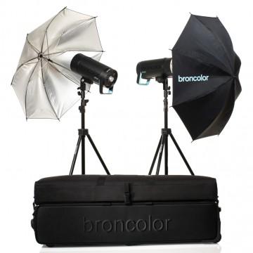 Комплект с двумя моноблоками Broncolor Siros Basic 400 31.660.ХХ