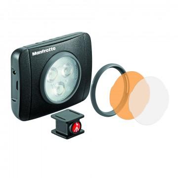 Накамерный LED осветитель Manfrotto Lumimuse 3 (Lumie Play) MLUMIEPL-BK