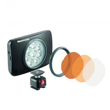 Накамерный LED осветитель Manfrotto Lumimuse 8 (Lumie Muse) MLUMIEMU-BK