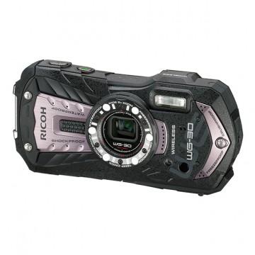 Влагозащищенная компактная фотокамера Ricoh WG-30 Wi-Fi черный с серыми вставками
