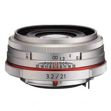 Объектив Pentax HD DA 21мм f/3.2 AL Limited Silver