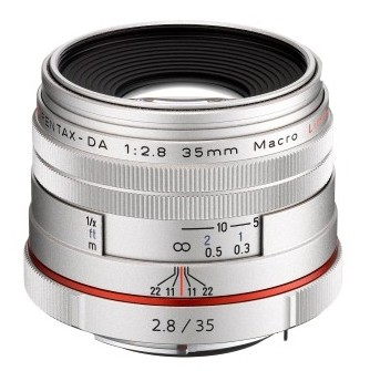 Объектив Pentax HD DA 35mm F2.8 Macro Limited Silver