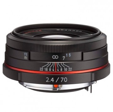 Объектив Pentax HD DA 70мм f/2.4 Limited black