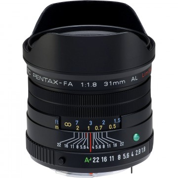 Объектив Pentax SMC FA 31mm f/1.8 AL Limited Black