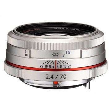 Объектив Pentax HD DA 70мм f/2.4 Limited Silver