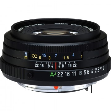 Объектив Pentax SMC FA 43 mm f/1.9 Limited