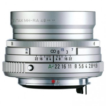Объектив Pentax SMC FA 43mm f/1.9 Limited silver