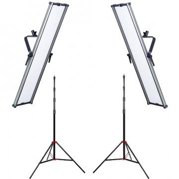 Комплект видеосвета LED GreenBean Double UltraKit 2x1806 II LED