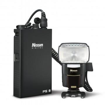 Nissin Внешний бат.блок PS8 для вспышек Nikon (для Nissin Di866N, MG8000 ,Nikon SB900/SB800/SB910)