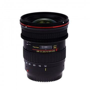Объектив Tokina AT-X 128 F4 PRO DX V N/AF (12-28mm) для Nikon
