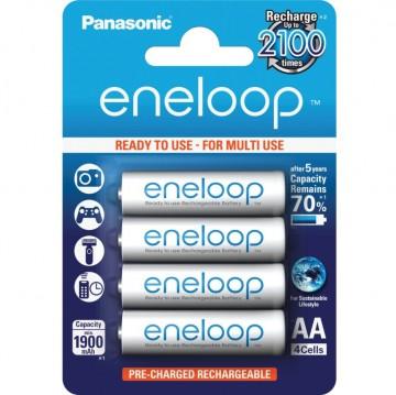 Panasonic Eneloop AA 1900 4BP (BK-3MCCE/4BE)