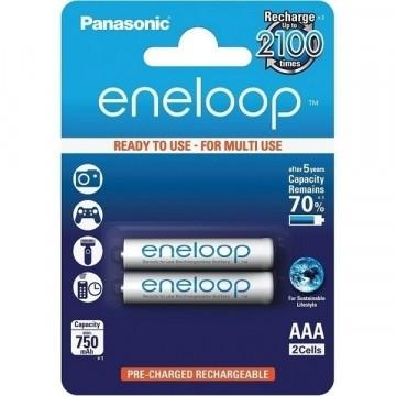 Panasonic Eneloop AAA 750 2BP (BK-4MCCE/2BE) 750 mAh