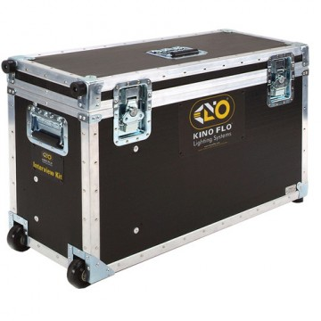Kinoflo Interview Ship Case (2ft 4Bank System, 2ft Double Systems (x2) KAS-INT3