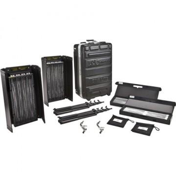 Комплект Kinoflo Diva-Lite 415 Kit, 230U (2-Unit) w/ Flight Case KIT-DV42-230U