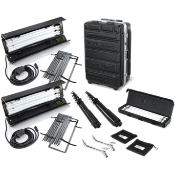 Комплект Kinoflo Diva-Lite 201 Kit, 230VAC (2-Unit) w/ Flight Case KIT-D22-230